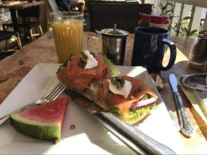 Jan Pedersen Breakfast in San Diego